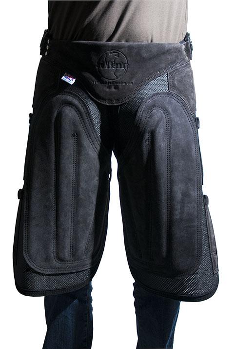 Hovslagarförkläde + Ryggplatta Läder / Syntet 3rd Millennium