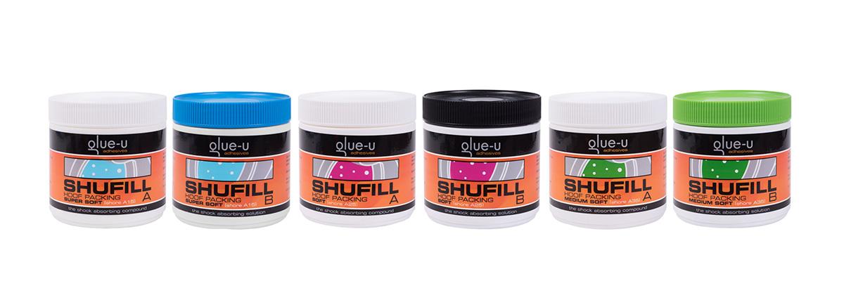 Glue-u Shufill Stötdämpning