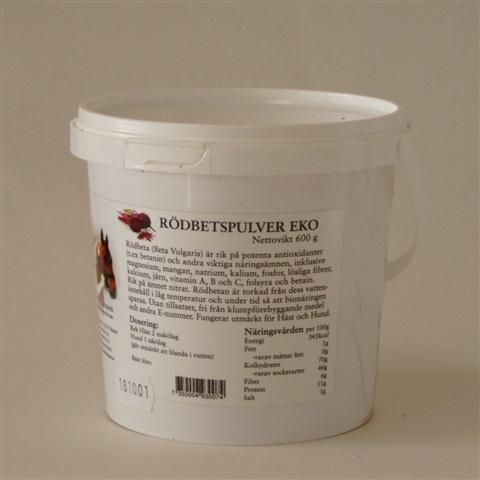 Rödbetspulver EKO 600 gr