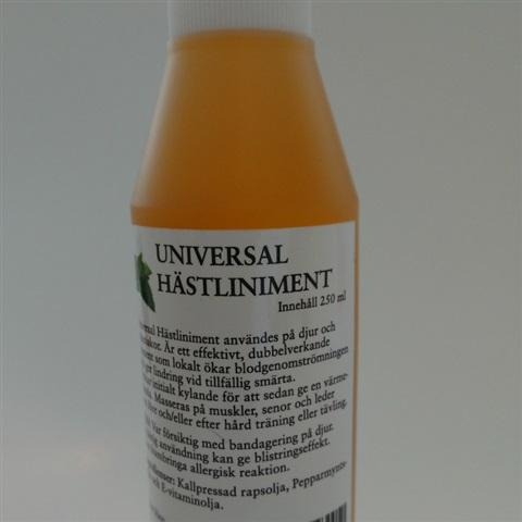 Hästliniment Universal( Pepparmyntsolja) 250 ml