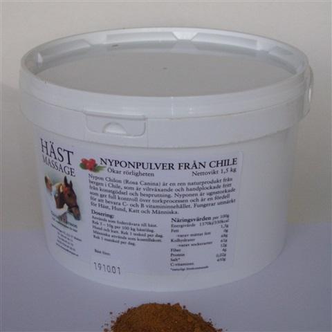 Nyponpulver från Chile 1,5 kg