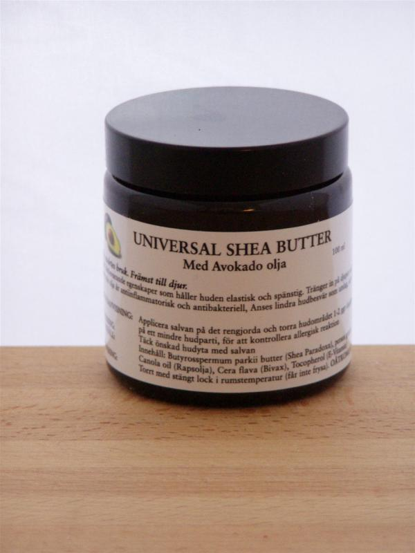 Universal Shea Butter med Avokado olja 100ml