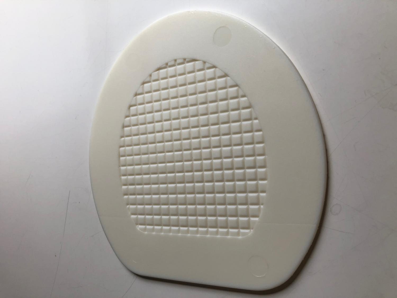 Plastsula vit hård 4mm