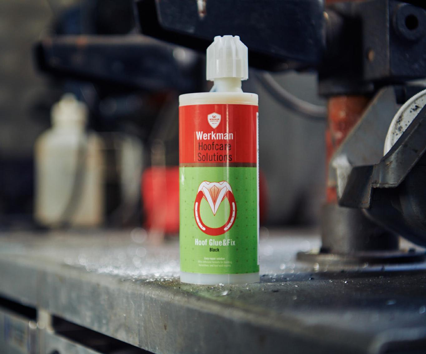 Werkman Hoofcare Hoof glue & fix 150 ml