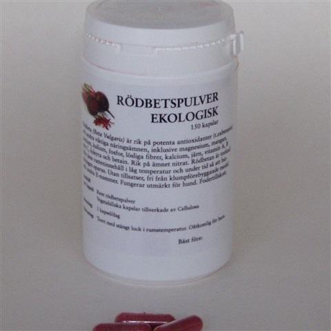 Rödbetspulver 150 kapslar
