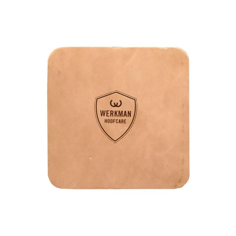 WERKMAN LEATHER PADS 4 MM. 16X6 (par)