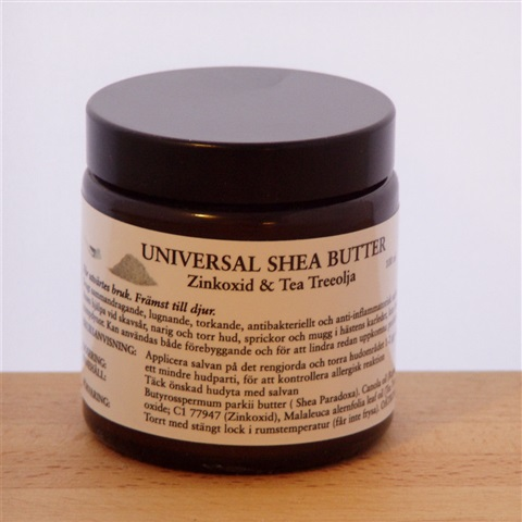 UNIVERSAL SHEA BUTTER med Zinkoxid & Tea Treeolja