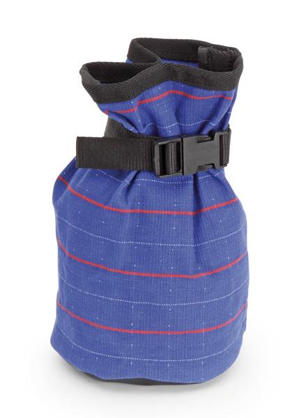 Skyddspåse för bandage på hästhov inomhus