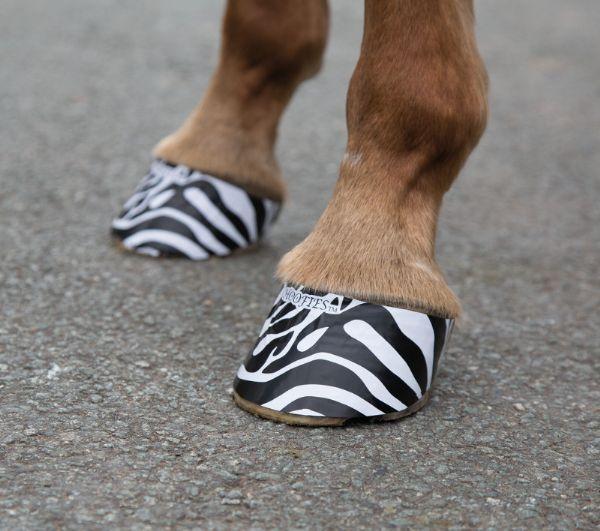 Hoofies Zebra Vit