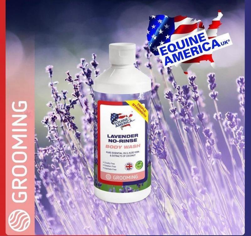 Lavender No Rinse Body Wash 1 ltr