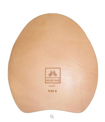 Lädersula Mustad Regular