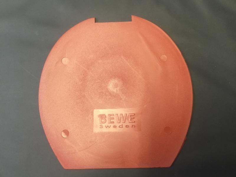 Sula Röd hård 2,5 mm