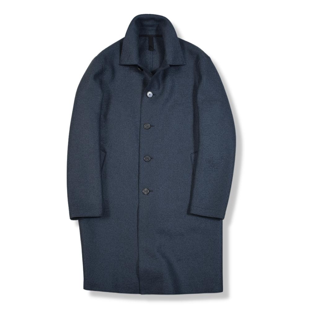 Mac Coat Pressed Wool
