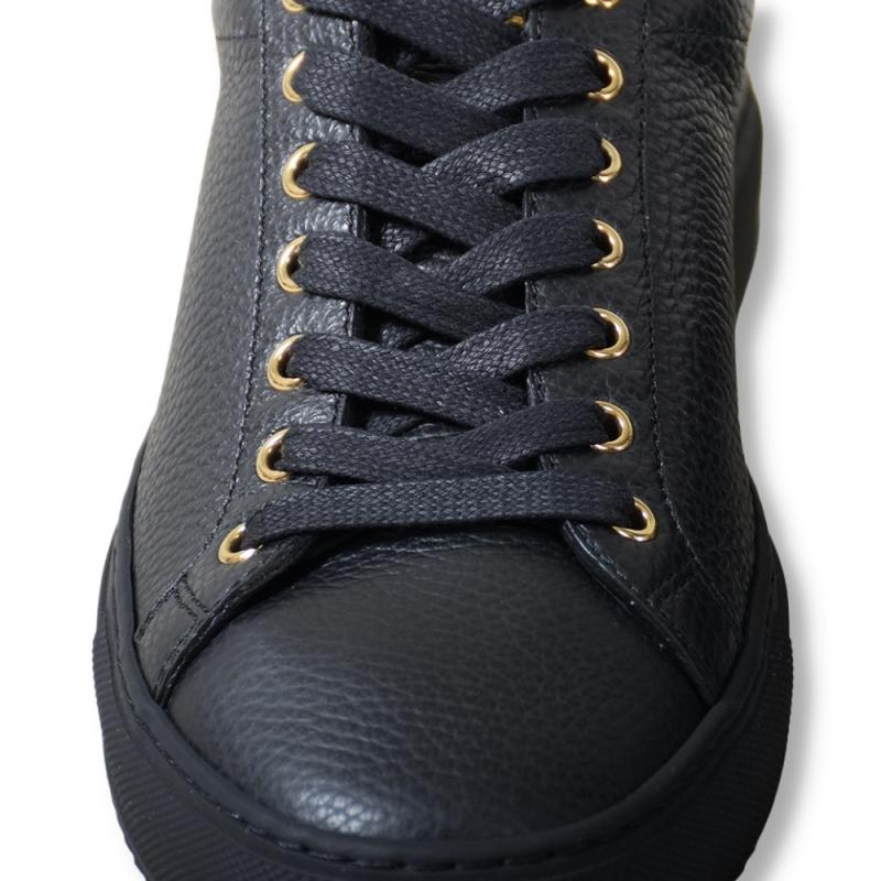 Wingfield All Black Leather