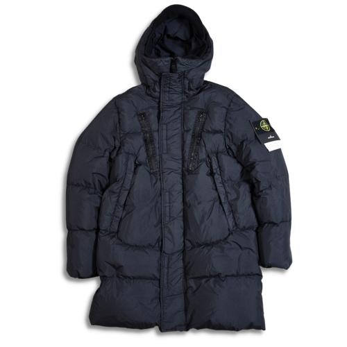 Crinkle Reps GD Hooded Down Coat - 751570123 - V0029