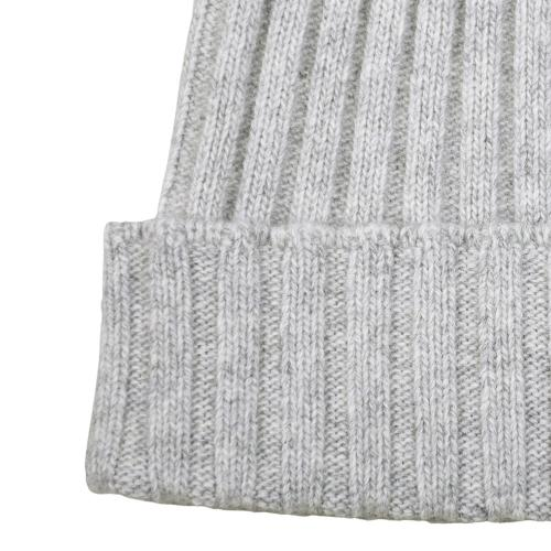 Fisher Ribbed Beanie Grey
