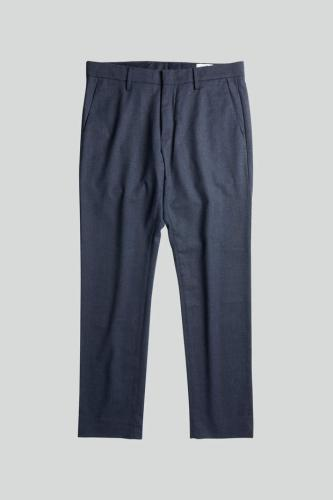 Theo 1249 Regular Wool Polyester Chino Blue