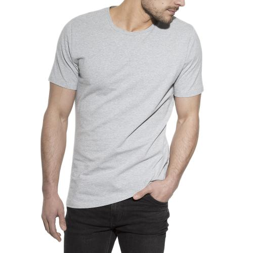 2-Pack Crew-Neck Grey melange