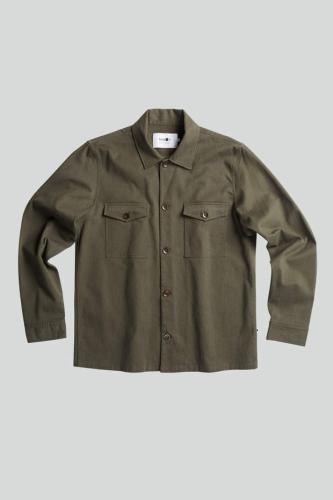 Pete 1206 Cotton Polyester Overshirt Green
