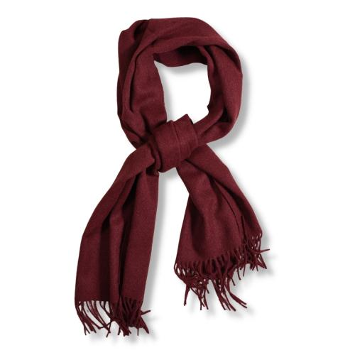 Wool Scarf Red