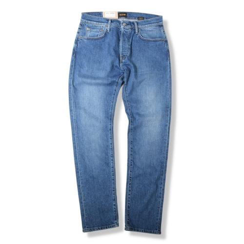 M7 Tapered Comfort Organic Indigo Washed Blue