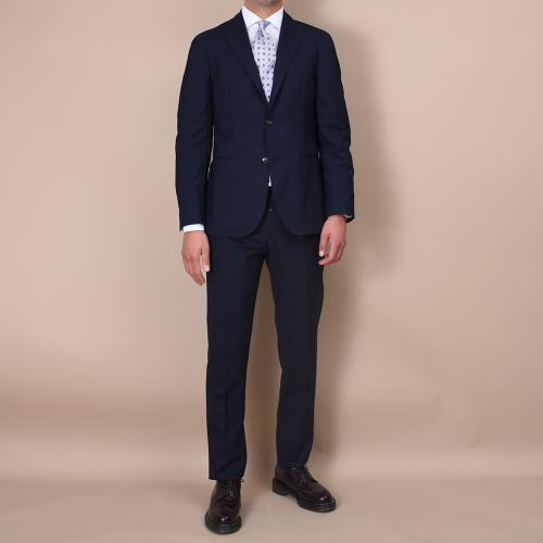 3 Button K-Suit Blue