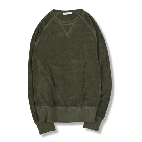 Terry Crewneck Sweatshirt Green