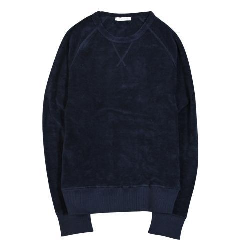 Terry Crewneck Sweatshirt Navy
