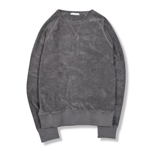 Terry Crewneck Sweatshirt Grey