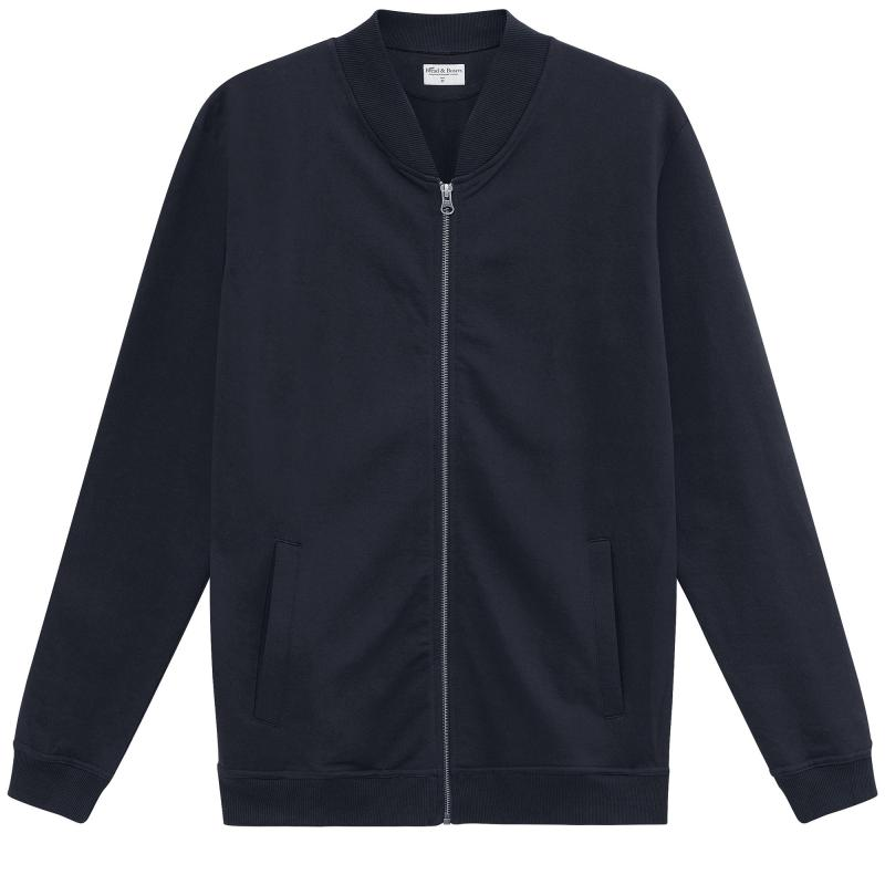 Jersey Jacket Dark Navy