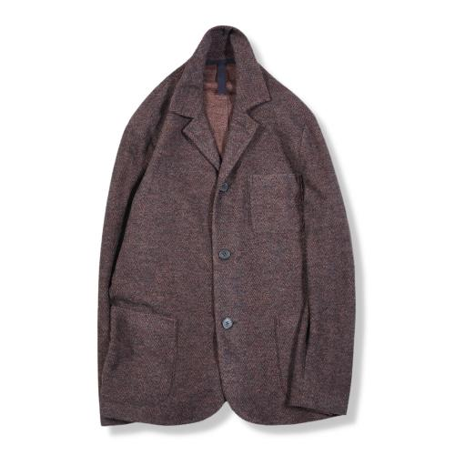 Dropped Shoulder Jacket Twilled Terry