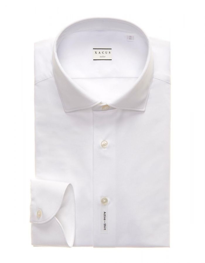 Active Tailor Fit Shirt White
