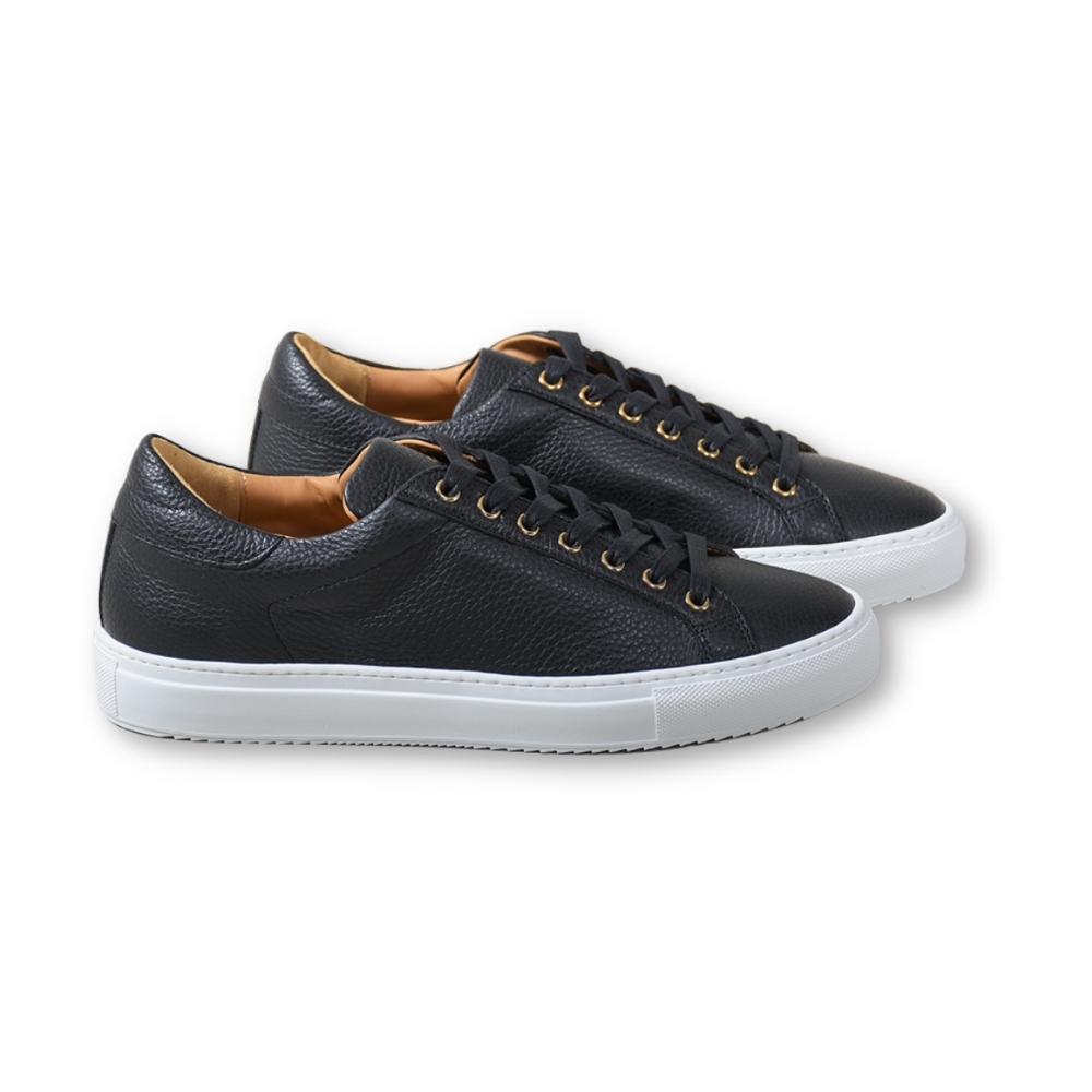 Wingfield Grain Leather Black