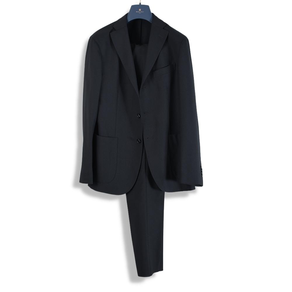 Black wool K-Jacket suit