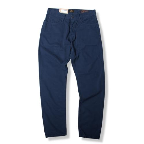 M8 Loose Tapered Cotton Cashmere Twill Navy