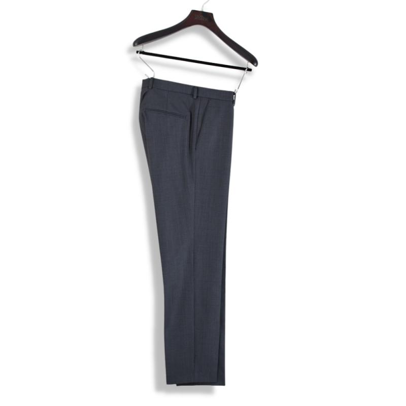 Denz Trousers Flannel Grey