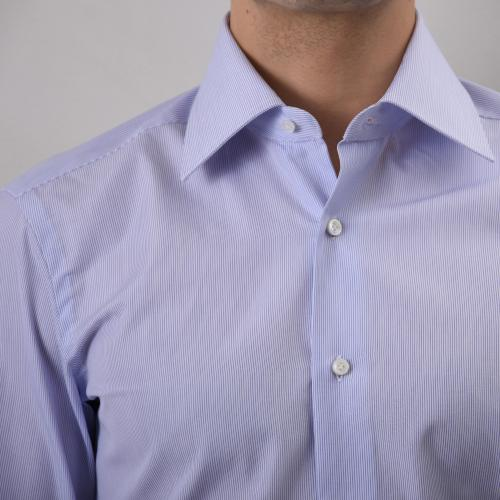 Semi Slim Stripe Shirt