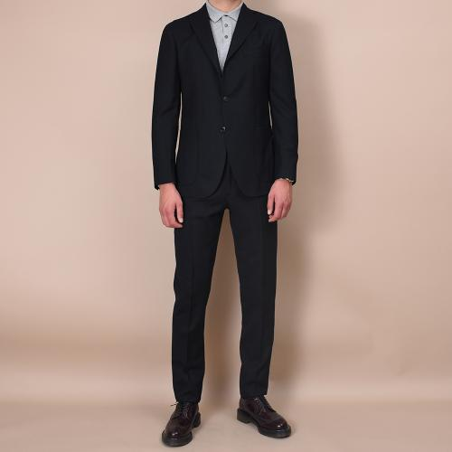 Black wool K-Jacket suit