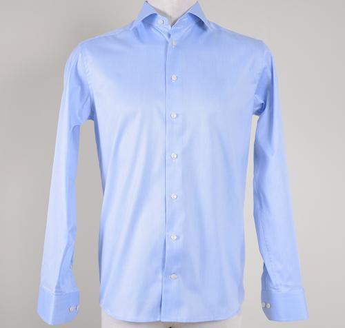 Blue Signature Twill Shirt