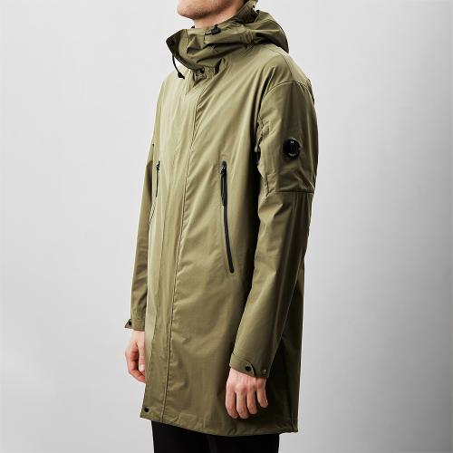 Pro-Tek Long Jacket Green
