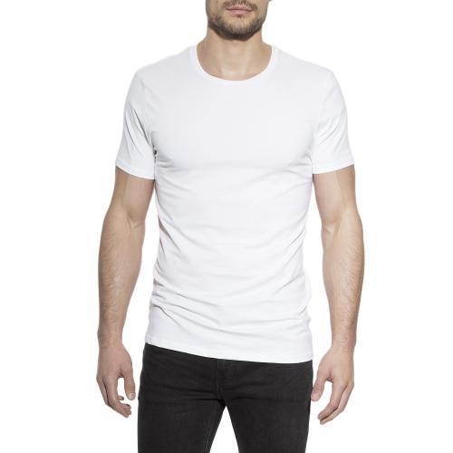 Crew-Neck cotton White