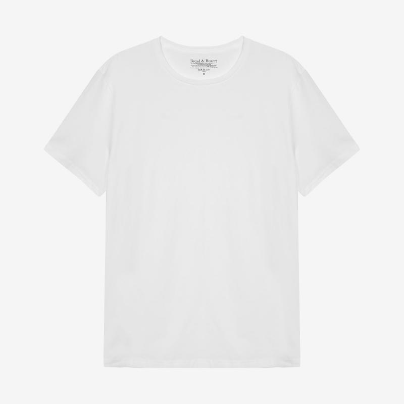 Crew-Neck cotton White