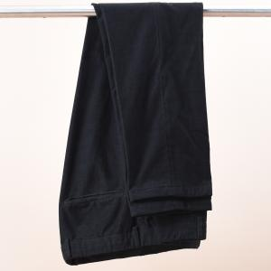 Denz Corduroy Trousers Black