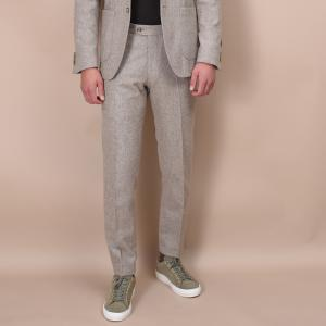 Denz Flannel Trousers Sand