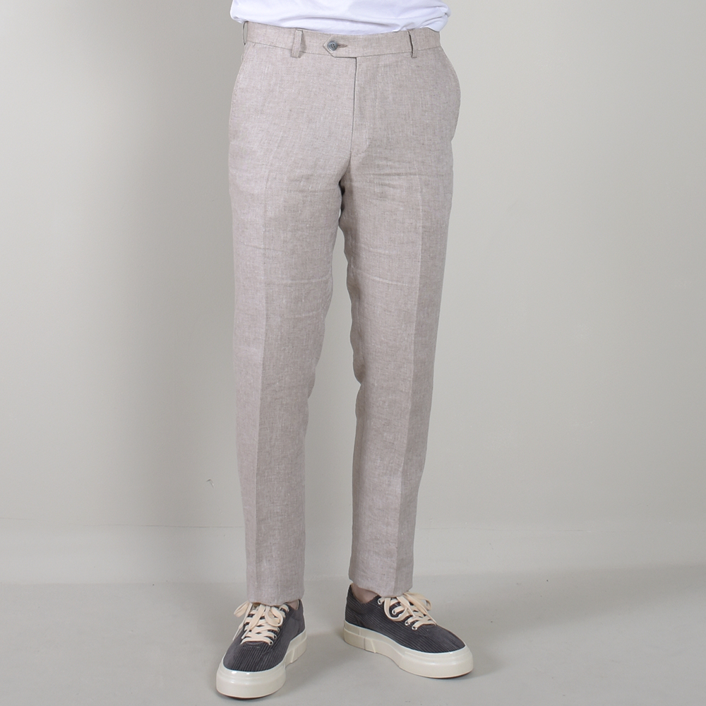 Denz Trousers Light Beige