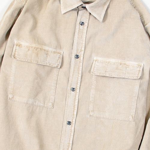 Haidar Reg Shirt Dyed Corduroy