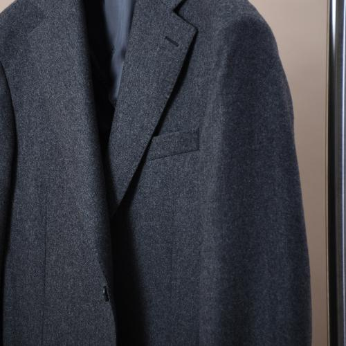 Egel Patch Blazer Dark Grey