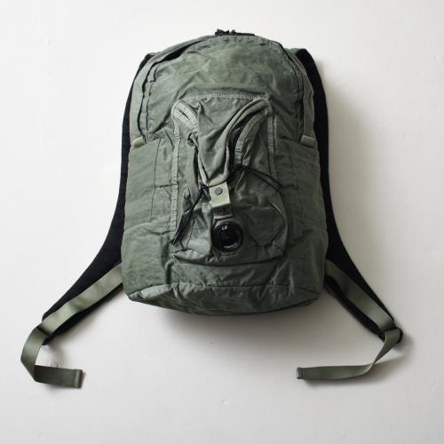 Garment Dyed Nylon Sateen Lens Backpack Laurel Wreat