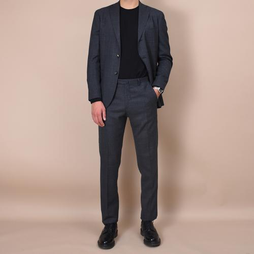 Grey wool K-Jacket suit