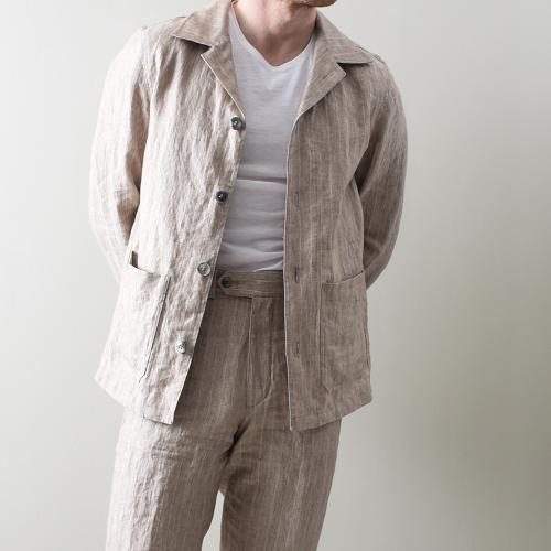Hampus shirt Jacket Beige
